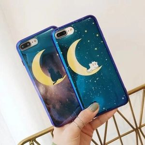 NEW iPhone X/XS/7+/8+ Glossy Moon case